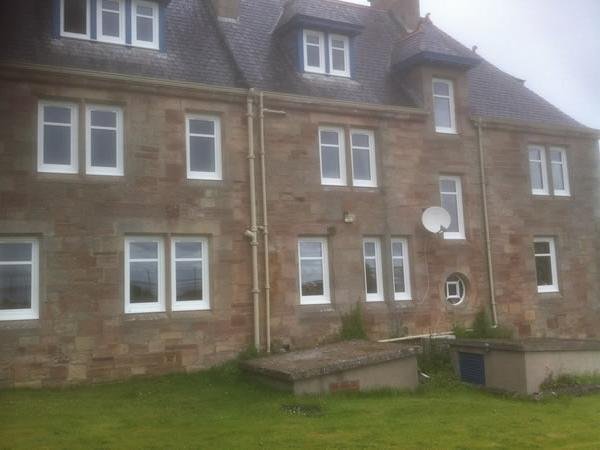 Norscot top of the class after VEKA M70 installation at historic North Highlands College