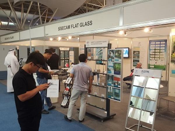Sisecam Flat Glass introduces its high tech products at Glass&Aluminium Saudi 2016