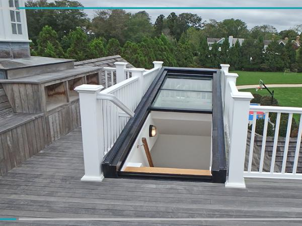 Using Retractable Skylights To Gain Roof Access
