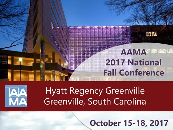 Early Bird Registration for AAMA Summer Conference Available Through September 23