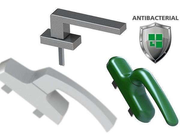 Antimicrobial Coating for Giesse Handles