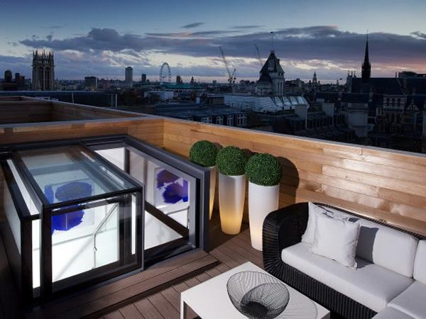 Box rooflights specified in high spec residential development
