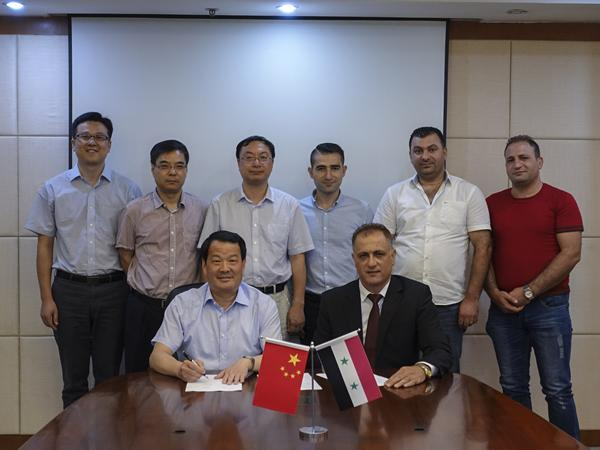 CTIEC Signs General Contract of Syrian 400t/d Float Glass Line