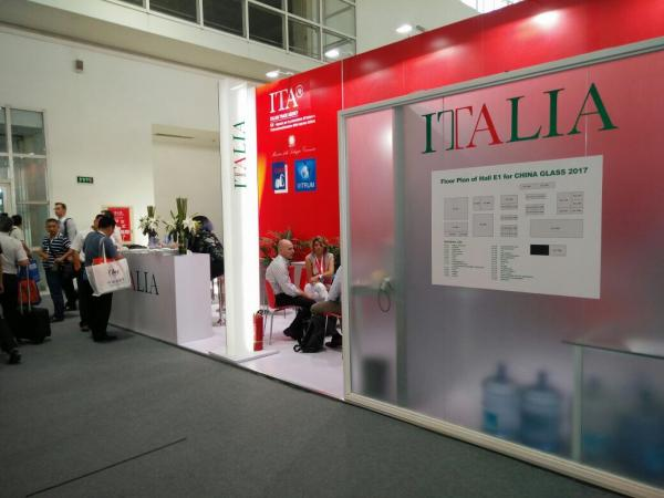 Italian companies enjoy sensational success at China Glass 2017