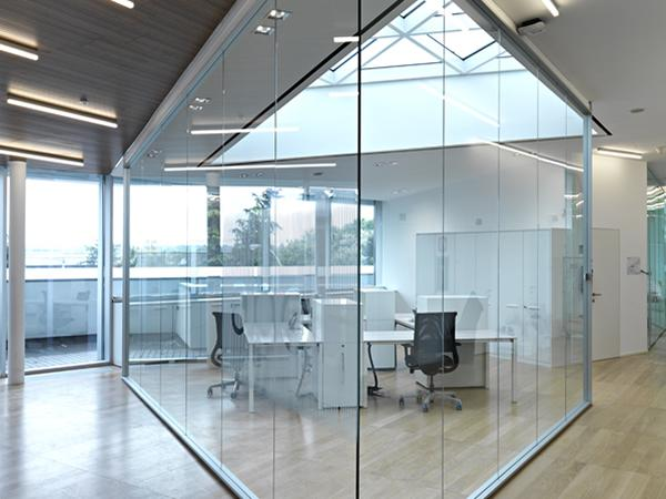 Glass interior walls: 10 years of activity, 10 collections