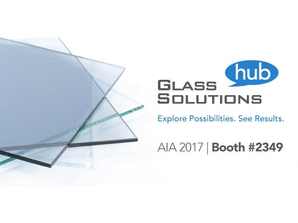 AIA 2017: Glass Solutions Hub