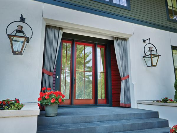 Kolbe's stylish entrance doors make a grand statement with numerous opportunities for personalization