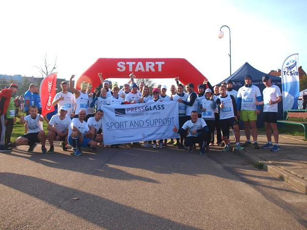 "Press Glass: ""Run and support"" in Tczew for children again"
