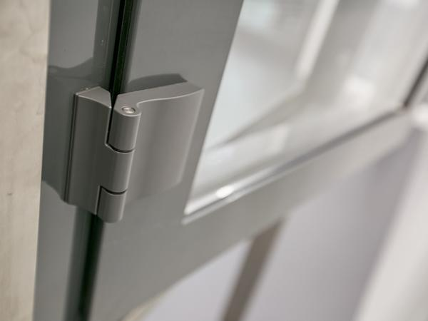 "The proven ""Roto Patio Fold"" range hinges ensure durability in an outward opening window. They are extremely weather resistant and ideal for outdoor use."