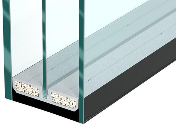 swisspacer presents the triple glazing spacer bar at bau. Black Bedroom Furniture Sets. Home Design Ideas