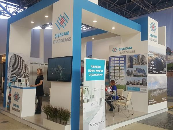 Şişecam Flat Glass exhibits its high technology products in VolgaStroyExpo