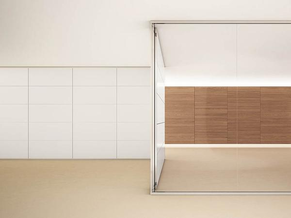 The features of a glass partition wall