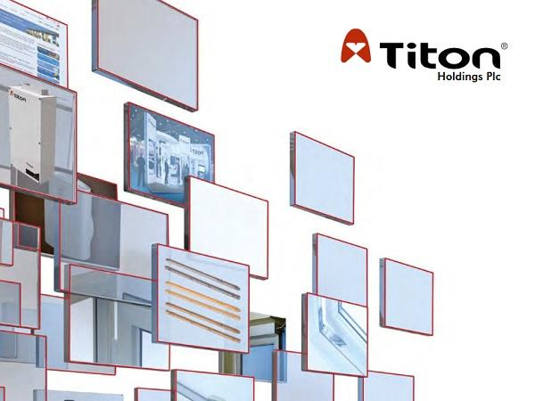 Titon to Showcase Window & Door Hardware Portfolio at the Fit Show