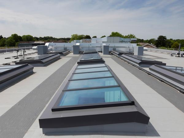Roofglaze Project: Wolfreton High School