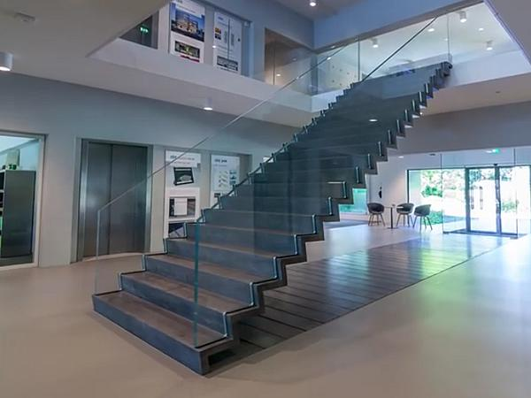 ABT realises ultra-slim hybrid staircase