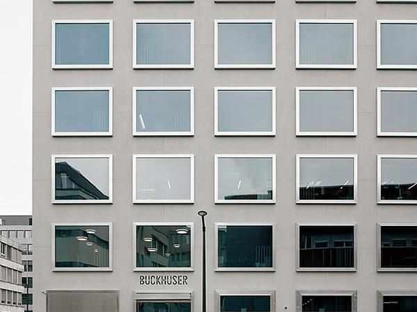 High-rise Diakoniewerk Bethanien Zurich, picture frame sliding casement windows by air-lux, E2A Architects Zurich / photo: Rasmus Norlander