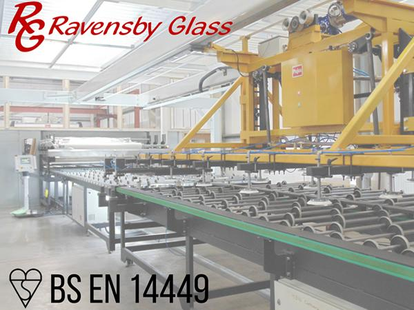 Ravensby Glass awarded BS EN 14449