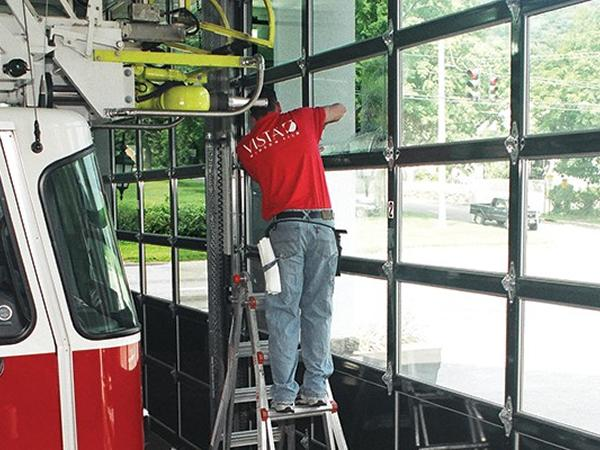 Tuxedo Firehouse Window Film Case Study