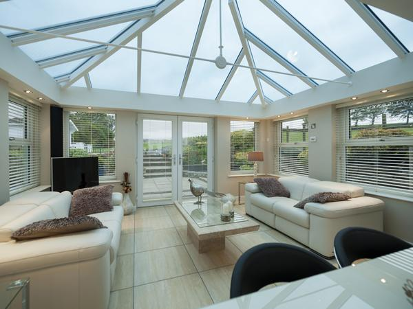 conservatory glass roofs from prefix. Black Bedroom Furniture Sets. Home Design Ideas