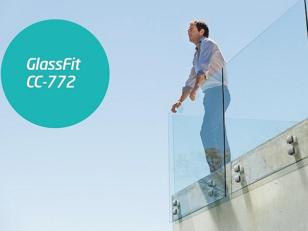 Enhance the visual impact of any project with the new GlassFit CC-772 system