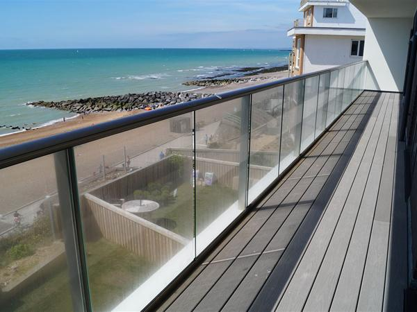 Glass balustrading 'was made for this impressive view'