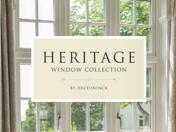 The New Heritage Window Collection by Deceuninck
