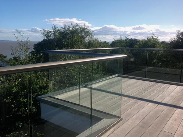 Engineering innovation gives glass balustrades more view, but less posts