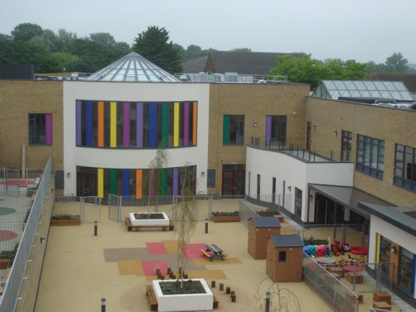 Innovative rooflights for a ground-breaking school