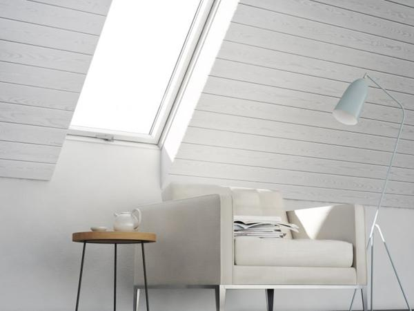 The rise and rise of white painted roof windows
