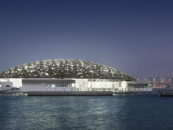 Opening of the Louvre Abu Dhabi Spectacular Dome Construction of Waagner-Biro