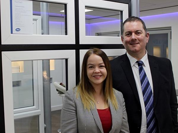 Dawn Stockell, Marketing Director and Neil Evans, Sales Director