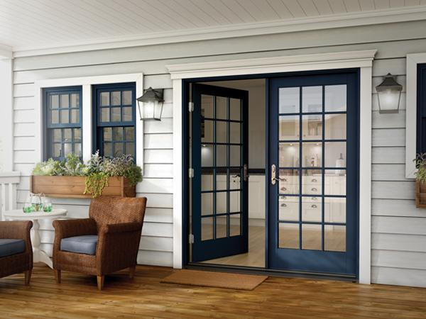 Milgard Essence Series In Swing And Out Swing French Patio Doors Now