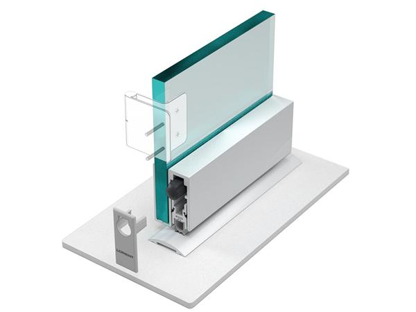 New LAS8002G drop seal for glass doors unveiled