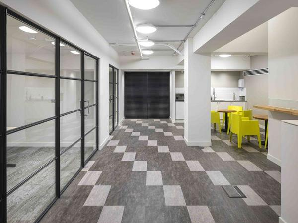 Offices given a modern twist with Clement internal steel screens