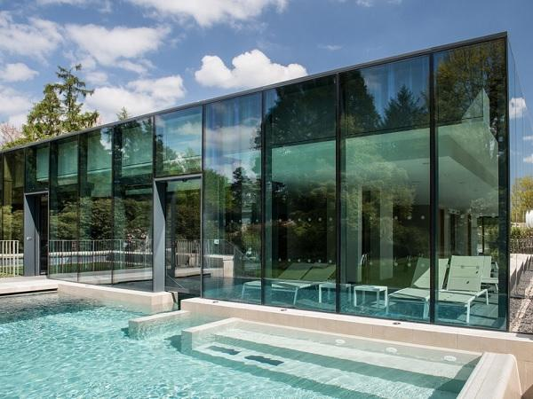 Advanced glazing helps create a luxury spa for all seasons