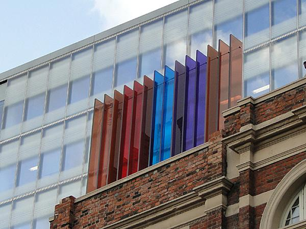 RG now producing coloured laminated glass with Vanceva