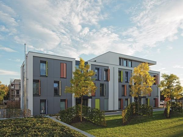 Climate-conscious living at 3-litre house level. The climate protection housing estate in Mönchengladbach brings structural and technical requirements together to form a ground-breaking overall concept.