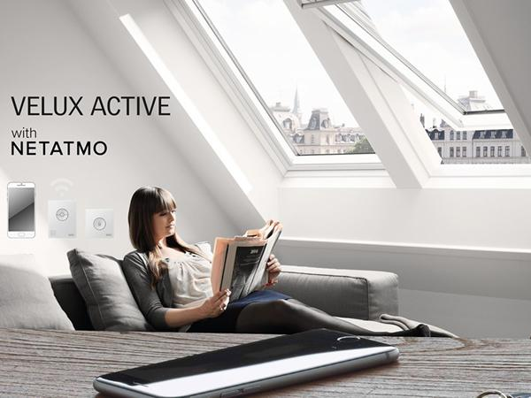 VELUX Introduced a new partnership with Netatmo for Smarter Homes