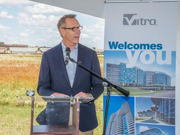 Vitro Architectural Glass breaks ground on jumbo MSVD coater at Wichita Falls