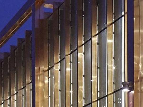 Glass Mullion System : Vs mullion only system on show at ecobuild
