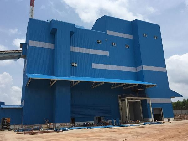 Zippe batch plant for float glass was successfully put into operation at KBI Thailand