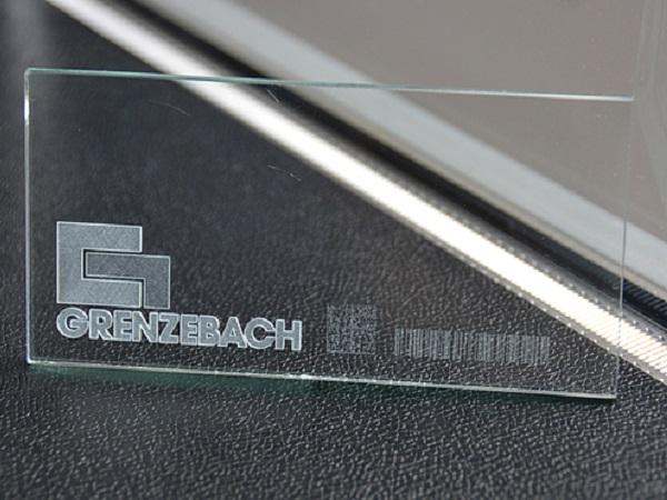 Glass with up-to-date digital fingerprint - Grenzebach offers different systems for this purpose.