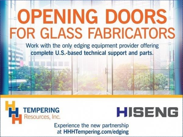 HHH Tempering Welcomes New Glass Edging and Polishing Machinery Partner
