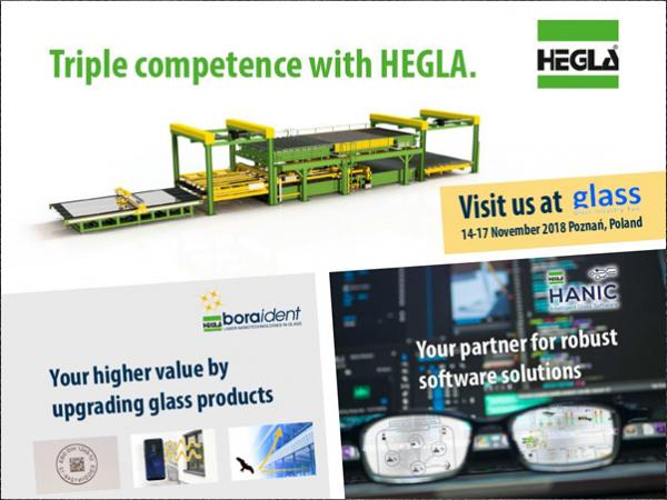 Discover bundled HEGLA know-how for your future solutions at the Glass Industry Fair in Poland