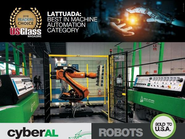 Adelio Lattuada & Lattuada North America Inc. won the 2018 USGlass Magazine Reader's Choice Award