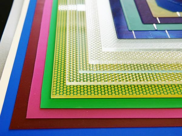 The combination of different materials presents a variety of different design options for photovoltaic modules. ©Fraunhofer ISE