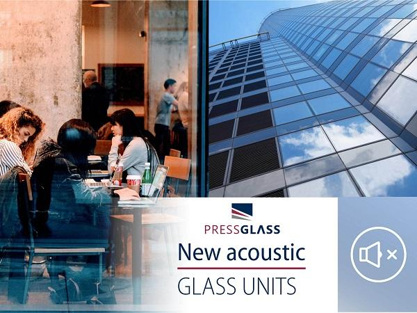 133 acoustic glass units in Press Glass portfolio