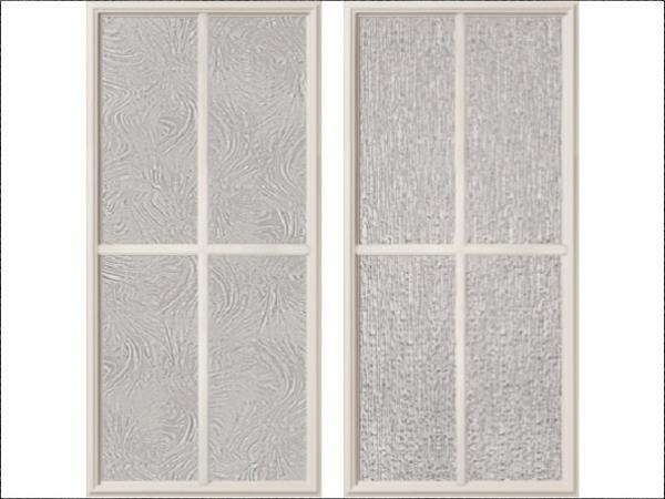 ODL Offers New Rain, Baroque Textures Of SDL Doorglass