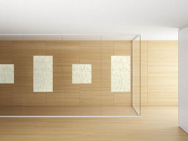 Sound-absorbing walls VetroIN, the features
