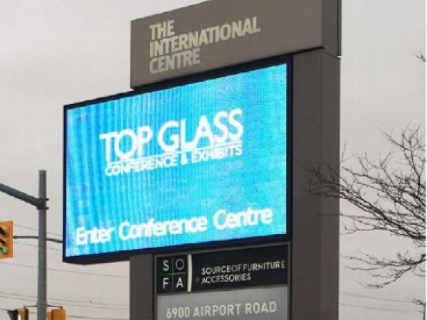 Top Glass show floor SOLD OUT